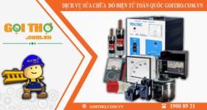 Dịch vụ sửa chữa đồ điện tử toàn quốc của Gọi Thợ