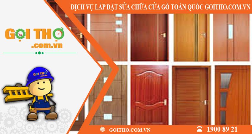 Dịch vụ lắp đặt sửa chữa cửa gỗ toàn quốc tại GOITHO.COM.VN