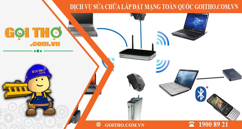 Dịch vụ lắp đặt sửa chữa mạng toàn quốc tại GOITHO.COM.VN