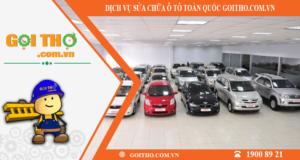 Dịch vụ sửa chữa ô tô toàn quốc của Gọi Thợ