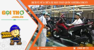 Dịch vụ sửa chữa xe máy toàn quốc của Gọi Thợ