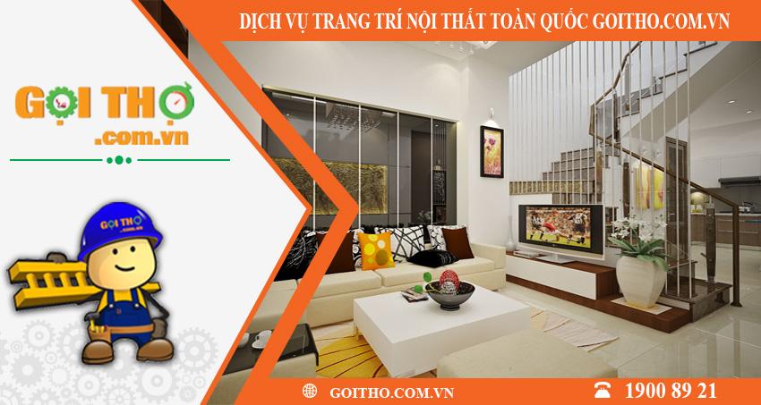 Dịch vụ trang trí nội thất toàn quốc tại GOITHO.COM.VN