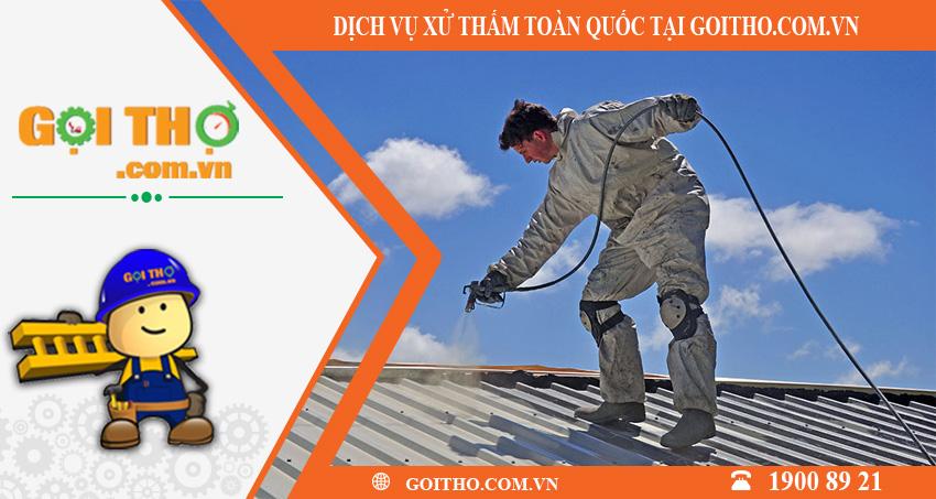 Dịch vụ xử lí dột toàn quốc tại GOITHO.COM.VN