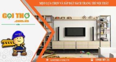 Sách trang trí nội thất – sản phẩm không thể thiếu cho không gian hiện đại